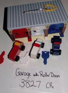 Garage with Roller Doors